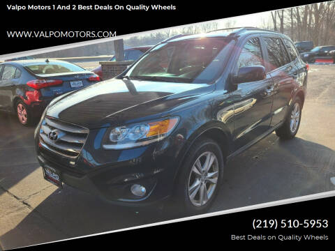 2012 Hyundai Santa Fe for sale at Valpo Motors 1 and 2  Best Deals On Quality Wheels in Valparaiso IN