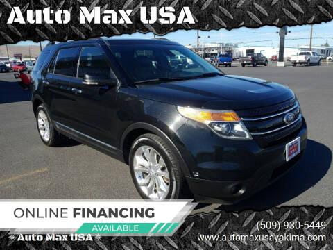 2013 Ford Explorer for sale at Auto Max USA in Yakima WA