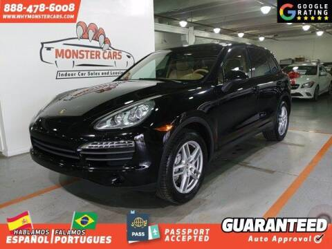 2011 Porsche Cayenne for sale at Monster Cars in Pompano Beach FL