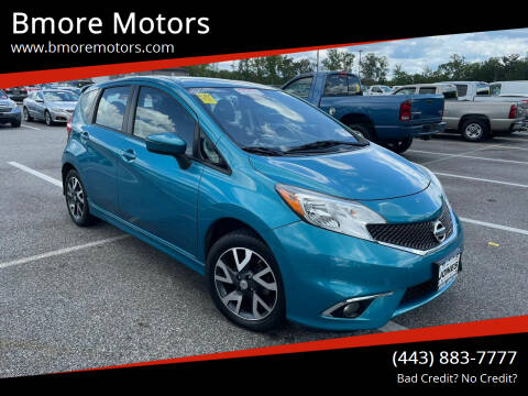 2015 Nissan Versa Note for sale at Bmore Motors in Baltimore MD