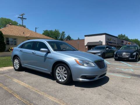 2012 Chrysler 200 for sale at Auto Financial Group LLC in Flat Rock MI