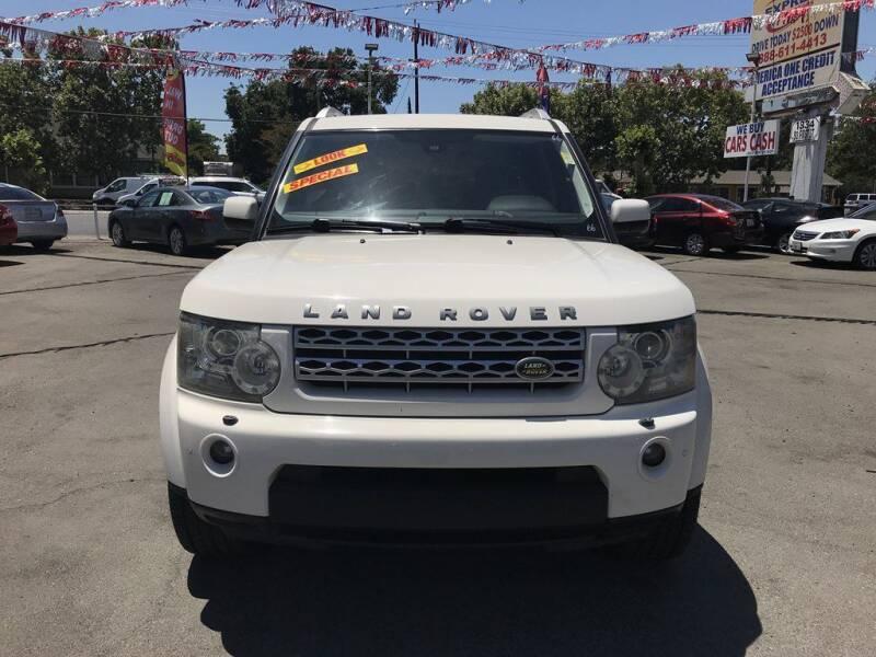 2010 Land Rover LR4 for sale at EXPRESS CREDIT MOTORS in San Jose CA