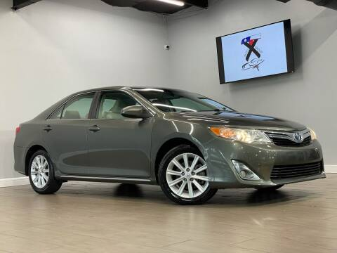 2012 Toyota Camry Hybrid for sale at TX Auto Group in Houston TX