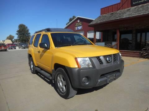 2007 Nissan Xterra for sale at Boyett Sales & Service in Holton KS