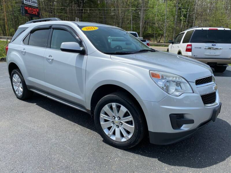 2011 Chevrolet Equinox for sale at Pine Grove Auto Sales LLC in Russell PA