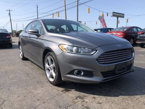 2013 Ford Fusion for sale at Instant Auto Sales in Chillicothe OH