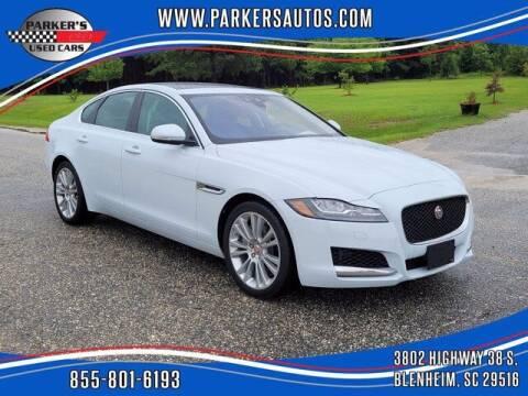 2020 Jaguar XF for sale at Parker's Used Cars in Blenheim SC
