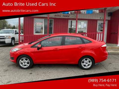 2015 Ford Fiesta for sale at Auto Brite Used Cars Inc in Saginaw MI