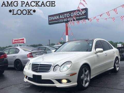 2009 Mercedes-Benz E-Class for sale at Divan Auto Group in Feasterville PA