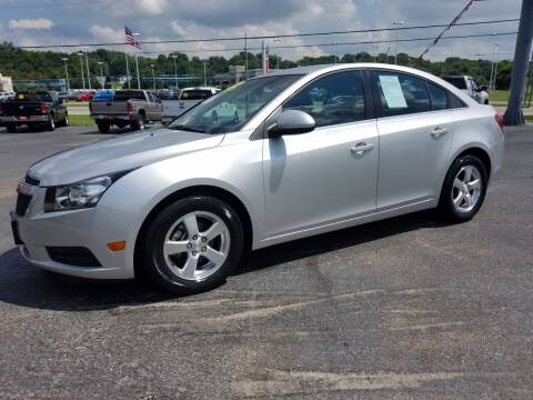 2012 Chevrolet Cruze for sale at Moores Auto Sales in Greeneville TN