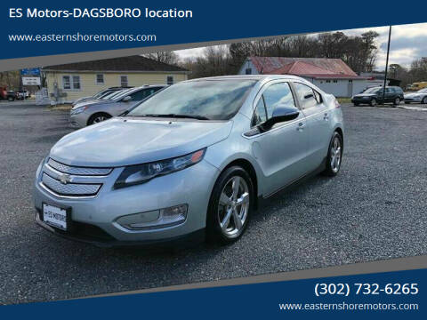 2011 Chevrolet Volt for sale at ES Motors-DAGSBORO location in Dagsboro DE