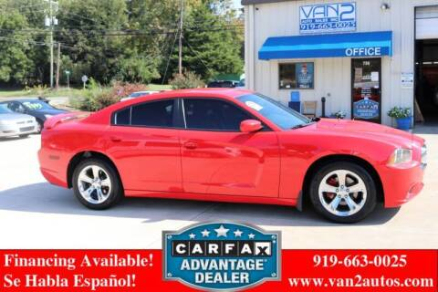 2014 Dodge Charger for sale at Van 2 Auto Sales Inc in Siler City NC