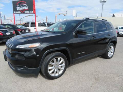 2016 Jeep Cherokee for sale at Moving Rides in El Paso TX