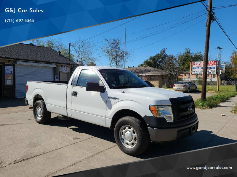 2013 Ford F-150 for sale at G&J Car Sales in Houston TX