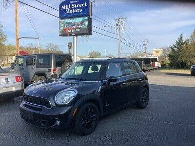2013 MINI Countryman for sale at Mill Street Motors in Worcester MA