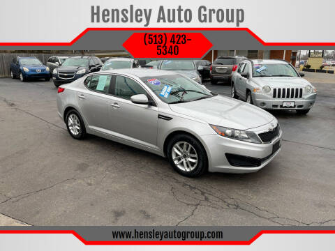 2011 Kia Optima for sale at Hensley Auto Group in Middletown OH