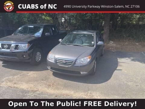 2009 Hyundai Elantra for sale at Credit Union Auto Buying Service in Winston Salem NC