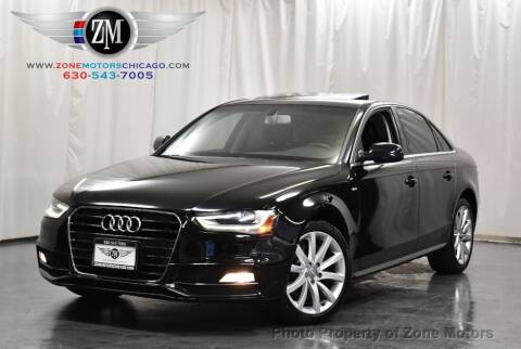 2014 Audi A4 for sale at ZONE MOTORS in Addison IL