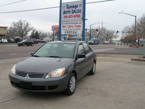 2006 Mitsubishi Lancer for sale at Springs Auto Sales in Colorado Springs CO