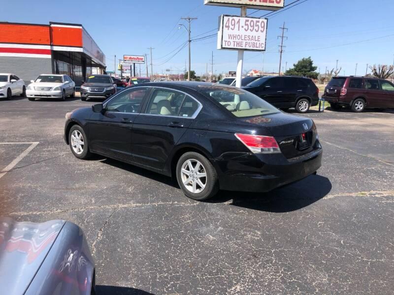 2008 Honda Accord for sale at United Auto Sales in Oklahoma City OK