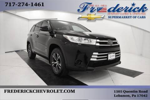2018 Toyota Highlander for sale at Lancaster Pre-Owned in Lancaster PA