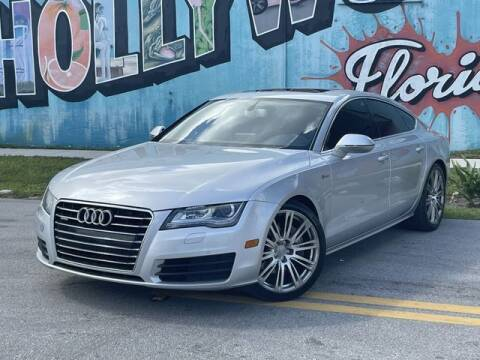 2012 Audi A7 for sale at Palermo Motors in Hollywood FL