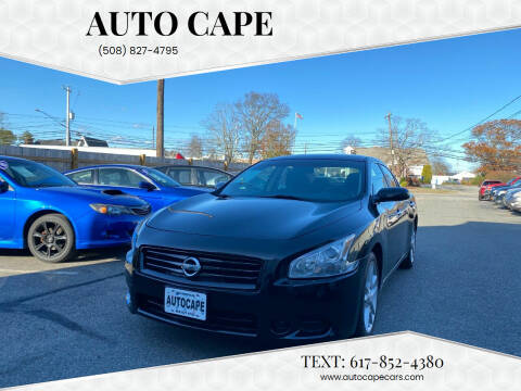 2013 Nissan Maxima for sale at Auto Cape in Hyannis MA