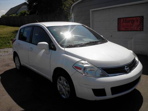 2011 Nissan Versa for sale at Marty's Auto Sales in Lenoir City TN