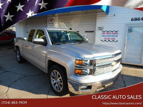 2015 Chevrolet Silverado 1500 for sale at Classic Auto Sales in Maiden NC