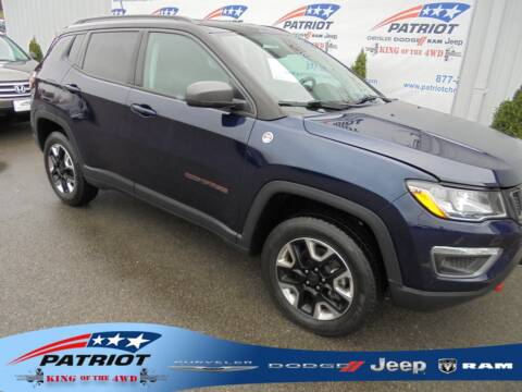2017 Jeep Compass for sale at PATRIOT CHRYSLER DODGE JEEP RAM in Oakland MD