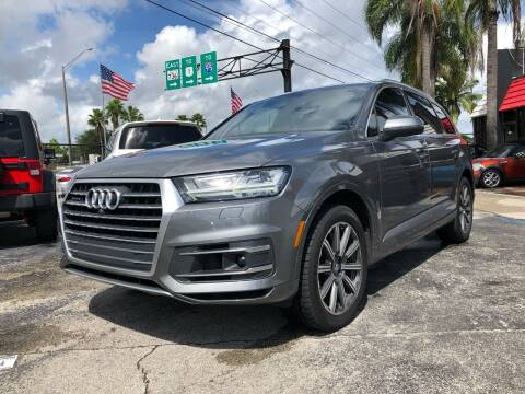2017 Audi Q7 for sale at Gtr Motors in Fort Lauderdale FL
