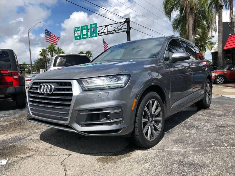 2017 Audi Q7 for sale at Gtr Motors in Fort Lauderdale FL