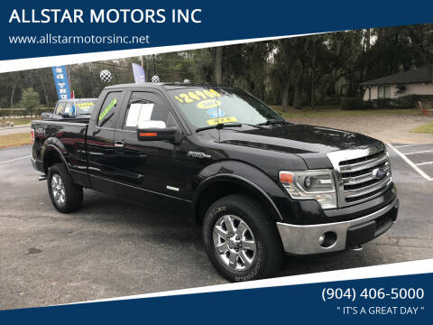 2014 Ford F-150 for sale at ALLSTAR MOTORS INC in Middleburg FL