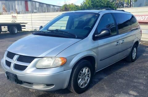 2002 Dodge Grand Caravan for sale at Jackson Motors Used Cars in San Antonio TX