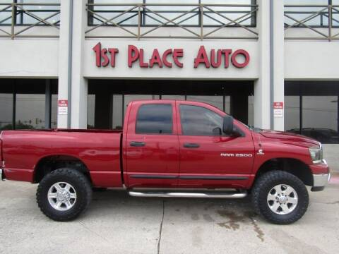 2006 Dodge Ram Pickup 2500 for sale at First Place Auto Ctr Inc in Watauga TX
