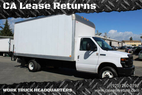 2017 Ford E-Series Chassis for sale at CA Lease Returns in Livermore CA