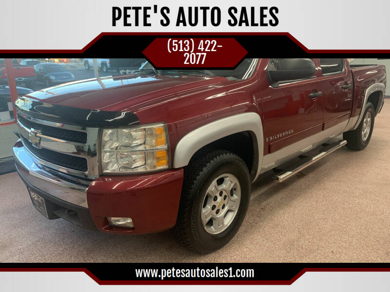 2007 Chevrolet Silverado 1500 for sale at PETE'S AUTO SALES - Middletown in Middletown OH