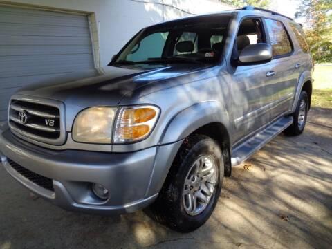 2003 Toyota Sequoia for sale at Liberty Motors in Chesapeake VA