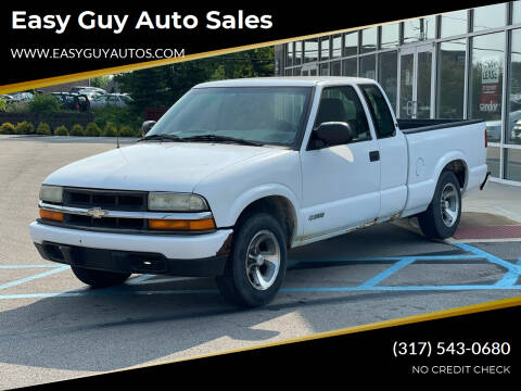 2003 Chevrolet S-10 for sale at Easy Guy Auto Sales in Indianapolis IN