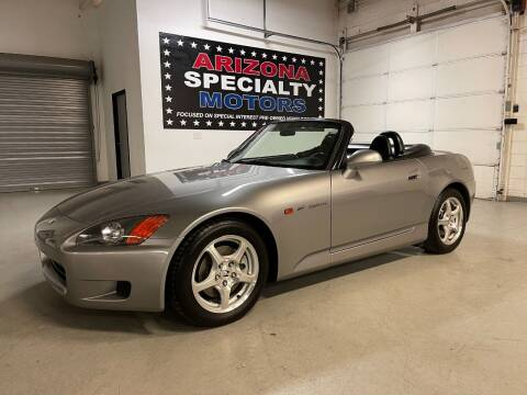 2001 Honda S2000 for sale at Arizona Specialty Motors in Tempe AZ