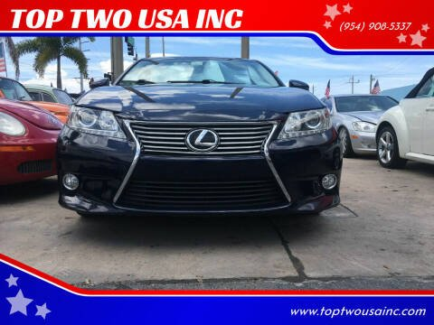 2013 Lexus ES 350 for sale at TOP TWO USA INC in Oakland Park FL