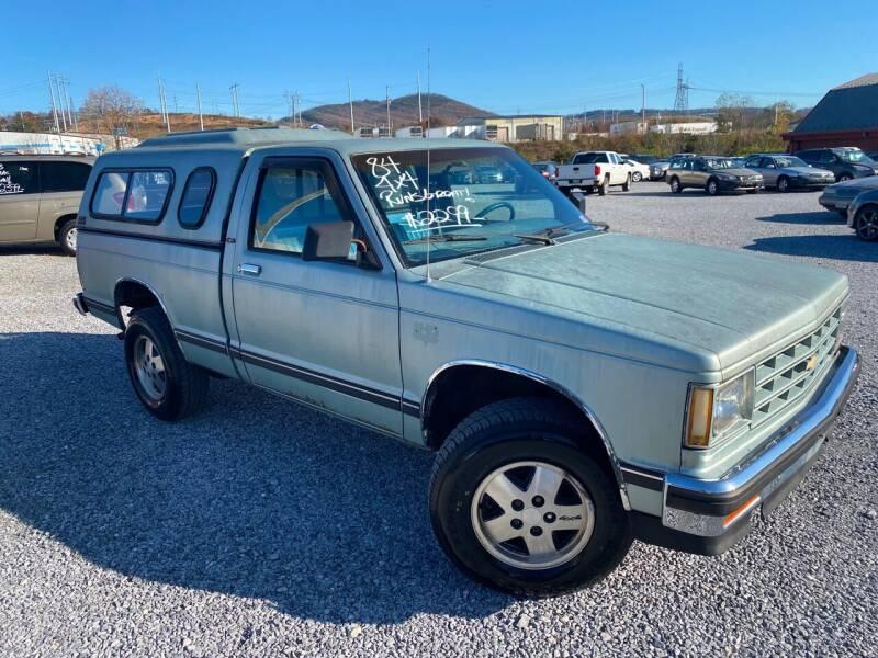 1984 Chevrolet S-10 2dr 4WD Standard Cab LB - Cloverdale VA