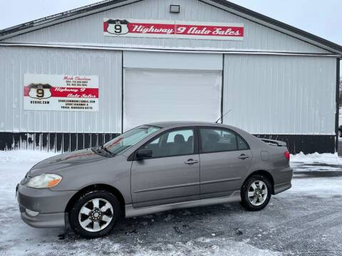 2003 Toyota Corolla for sale at Highway 9 Auto Sales - Visit us at usnine.com in Ponca NE