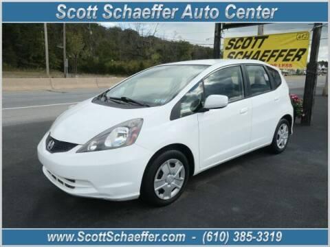 2013 Honda Fit for sale at Scott Schaeffer Auto Center in Birdsboro PA