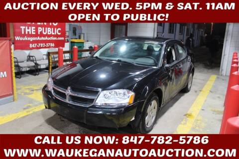 2009 Dodge Avenger for sale at Waukegan Auto Auction in Waukegan IL