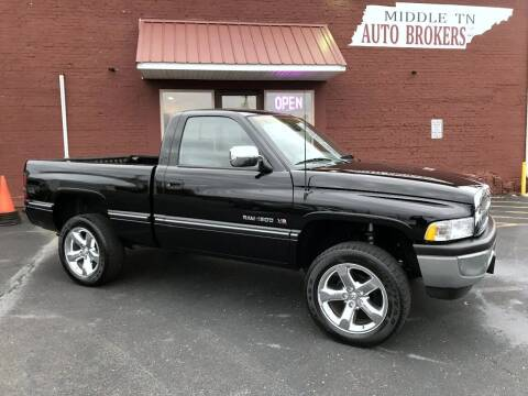 1997 Dodge Ram Pickup 1500 for sale at Middle Tennessee Auto Brokers LLC in Gallatin TN