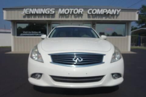 2013 Infiniti G37 Sedan for sale at Jennings Motor Company in West Columbia SC