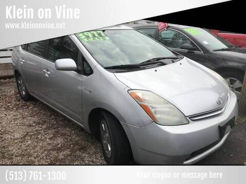 2008 Toyota Prius for sale at Klein on Vine in Cincinnati OH