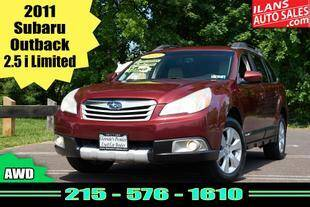 2011 Subaru Outback for sale at Ilan's Auto Sales in Glenside PA