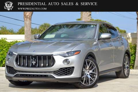 2017 Maserati Levante for sale at Presidential Auto  Sales & Service in Delray Beach FL
